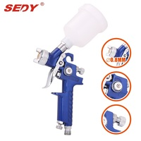 Hot Sale 0 8 MM Hvlp H 2000 Professional Mini Air Pistol Airgun Paint Guns With