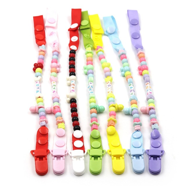JOJOCHEW Chain קליפ 7 סגנון חדש תינוק מוצץ קליפים יילוד Dummy מוצץ שרשרת קליפ מחזיק תינוק חג המולד מתנה