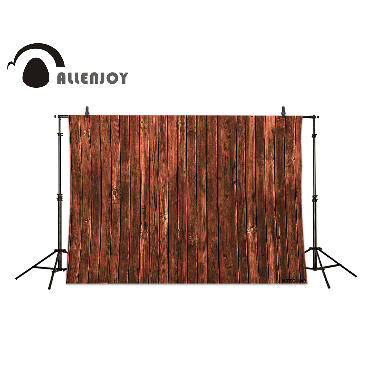 Allenjoy photography backdrops Old wooden brown wood brick wall backgrounds for photo studio photography backdrops wood grain adhesion wood brick wall backgrounds for photo studio