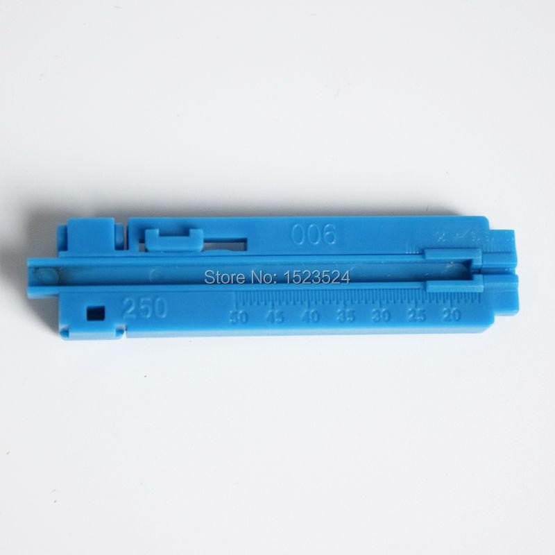 Free Shipping FTTH Fiber Drop Cable Coating Stripper Fiber Guide Bar Cutting Guideway