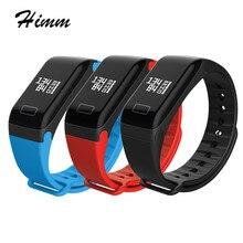 Спортивные монитор сердечного ритма Bluetooth F1 R3 Smart Браслет трекер Smart Браслет фитнес часы браслет