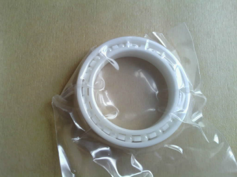 Full Ceramic Bearing 697 ZrO2 7x17x5 mm Ball Bearings Non-magnetic Insulating PTFE Cage ABEC 3