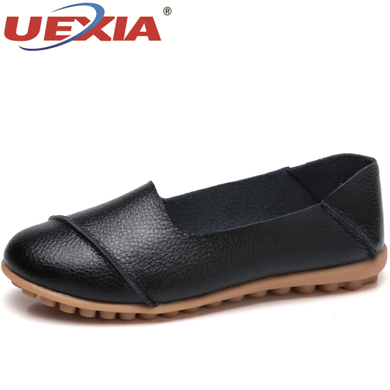 UEXIA 2018 Spring women casual flats shoes female slip-on creepers platform shoes women leather white sneakers shoe Breathable 2018 spring women flats shoe flowers embroidery shoes waterproof platform floral flats lace up casual white shoes female