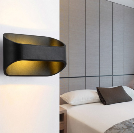 5W Led Wall Lamp Warm Light For Living Room Bed Room Modern Bedroom Wall Lighting Aluminum Led