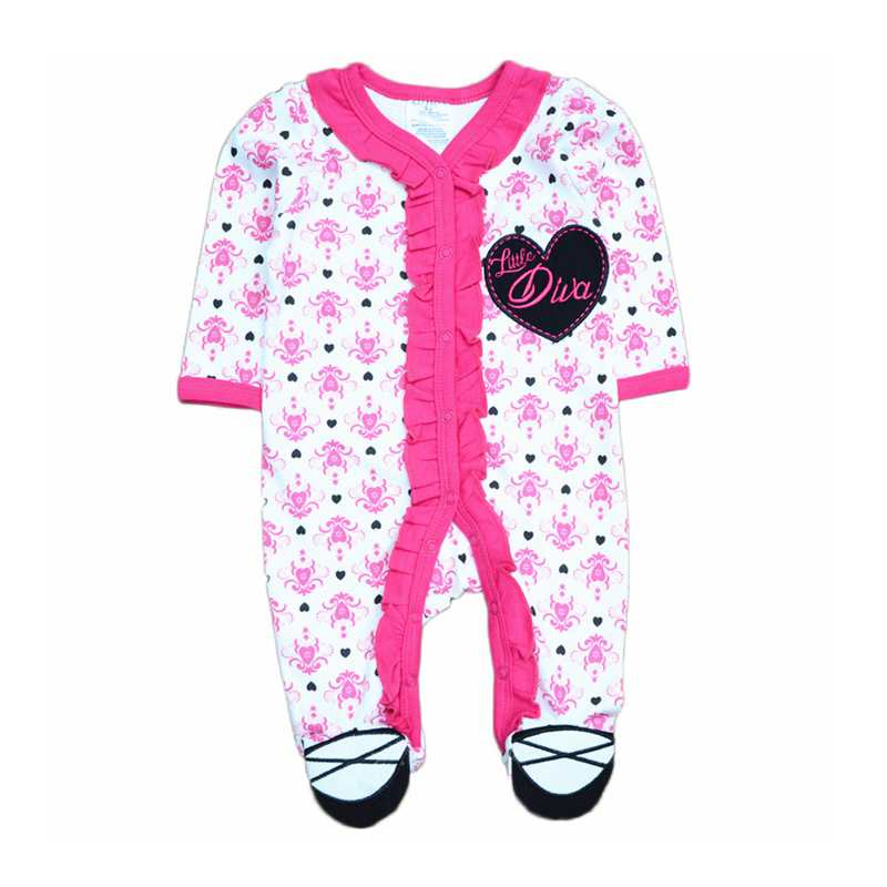 2017 Summer Baby Clothing Girl Boy Sleepwear Cotton