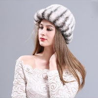 Faux Mink Fur Women Fedoras Autumn Winter Warm Korea Female Hat All Match Thermal Fur Chic Cap Casual Solid Color MZ001