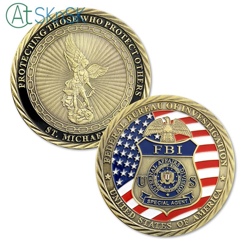 1pcs New St Michael Patron Saint Of Law Enforcement