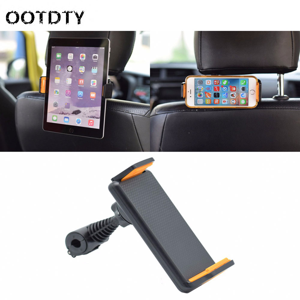 Universal 360 Degree Rotating Car Back Seat Headrest Mount Holder Stand For iPhone iPad GP
