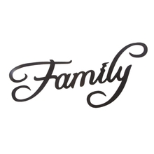 Family Letter Word Wood Hanging Sign Wall Decal Sticker Room Home Decor Ornament стоимость