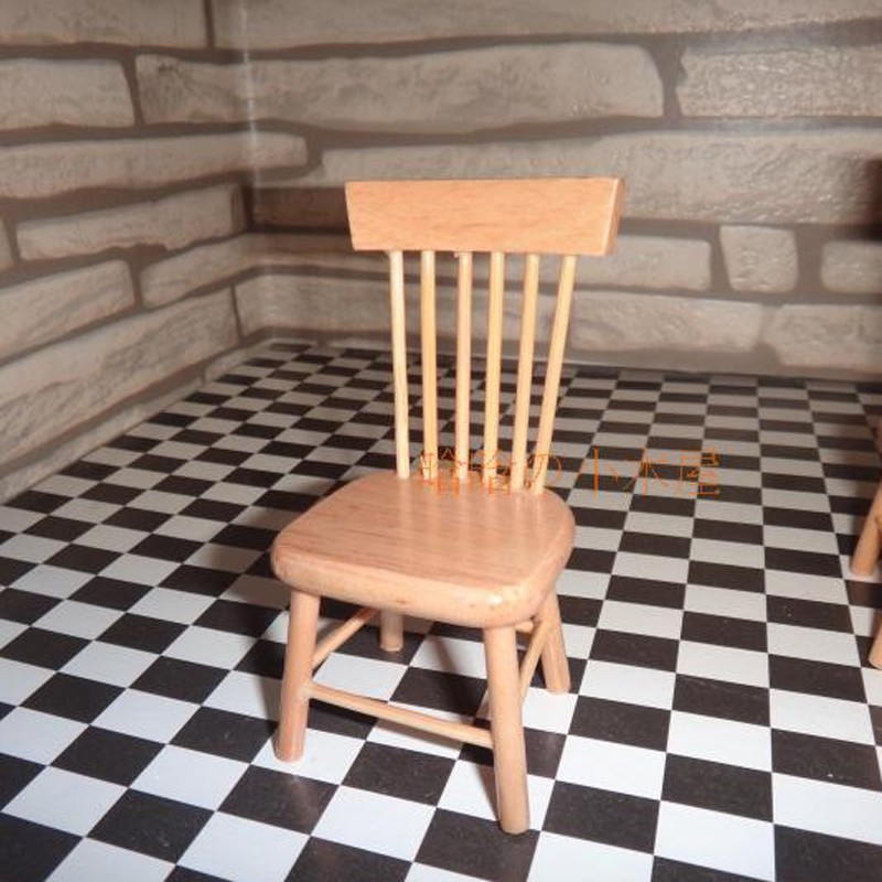 Dining table and chair set doll house 14