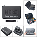 New Arrive Waterproof Shockproof Case Bag Large For Go Pro Gopro Hero 5 4 3+ SJCAM M10 M20 SJ5000 Accessories(32 x 22 x 7 cm)