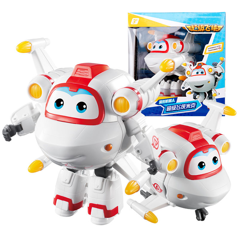 2018 Newest Big Super Wings Deformation Airplane Robot Action Figures Super Wing Neo/Astro/Scoop Transformation toys