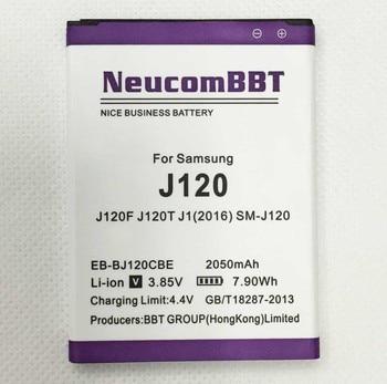 Аккумулятор для Samsung j120 J120F j120t J1 (2016) EB-BJ120CBE 2050 мАч, neucombt EBBJ120CBE, sm-j120