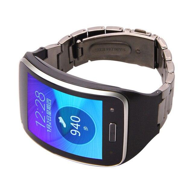 Металла нержавеющей Стали Часы Ремешок Ремешок Браслет Для Samsung Gear S SM-R750 Высокое Качество О18