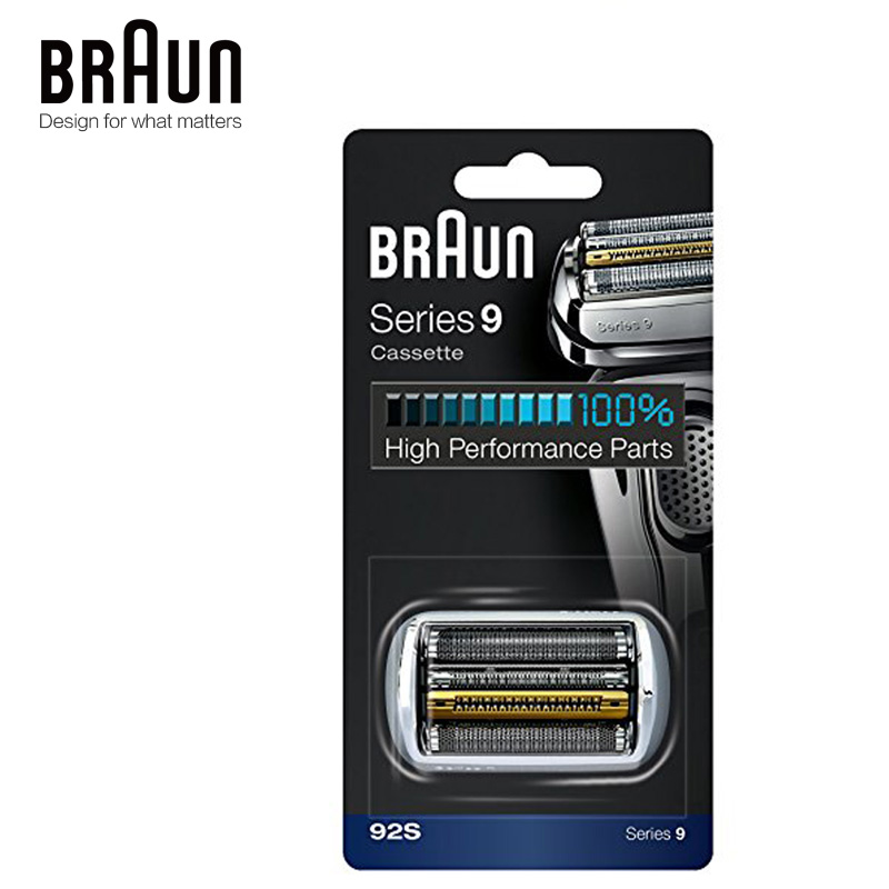 Image 2 - Braun 92s Electric Shaver Razor Blade Series 9 Foil & Cutter Replacement Head Cassette 9030s 9040s 9050cc 9090cc 9095cc-in Electric Shavers from Home Appliances
