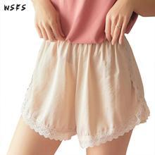 Summer Womens Lace Loose Short Pants Wide Leg Shorts Ladies Mini White Black Beige Pink Sexy Casual Loose Short Pants Trousers цена и фото