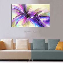 Frameless Modern Hand Painted Oil Painting New Design Landscape Abstract Canvas Home Wall Art Picture Decor