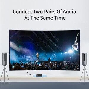 Image 4 - Hagibis transmetteur de récepteur Bluetooth 5.0, amplificateur 2 en 1 sans fil, aptX, Audio HD, 3.5mm, SPDIF/type l, pour la télévision, les écouteurs, la voiture et le PC