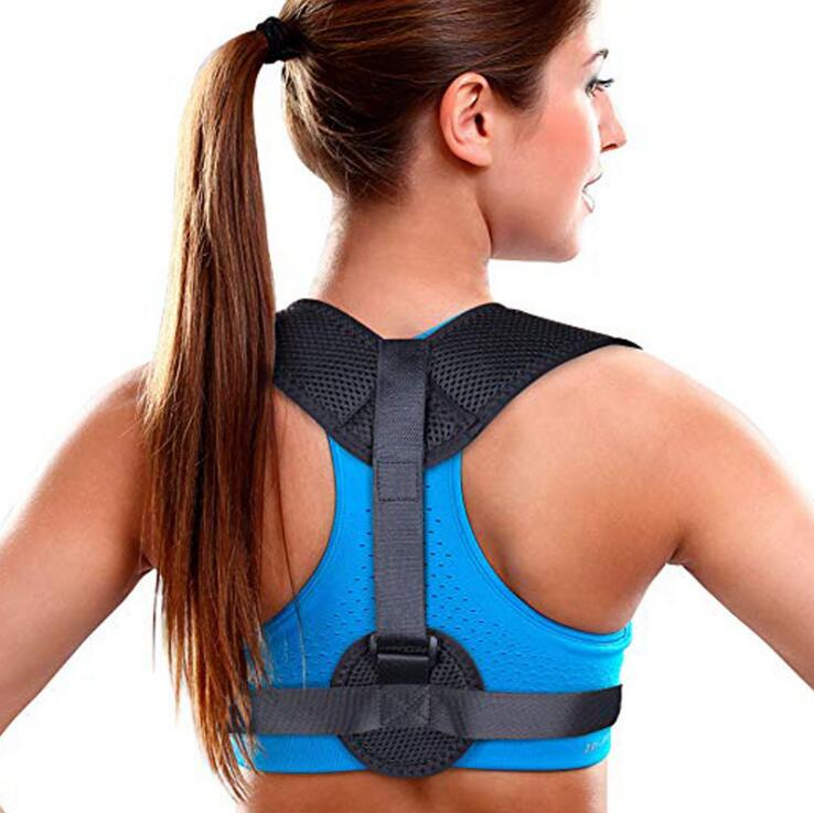 Back Posture Corrector Prevent Slouching Relieve Pain Posture Straps Clavicle Support Brace Drop Shipping Adjustable Unisex(China)