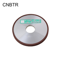 Durable Diamond Coated Parallel Grinding Wheel Diameter 125mm Hole 32mm