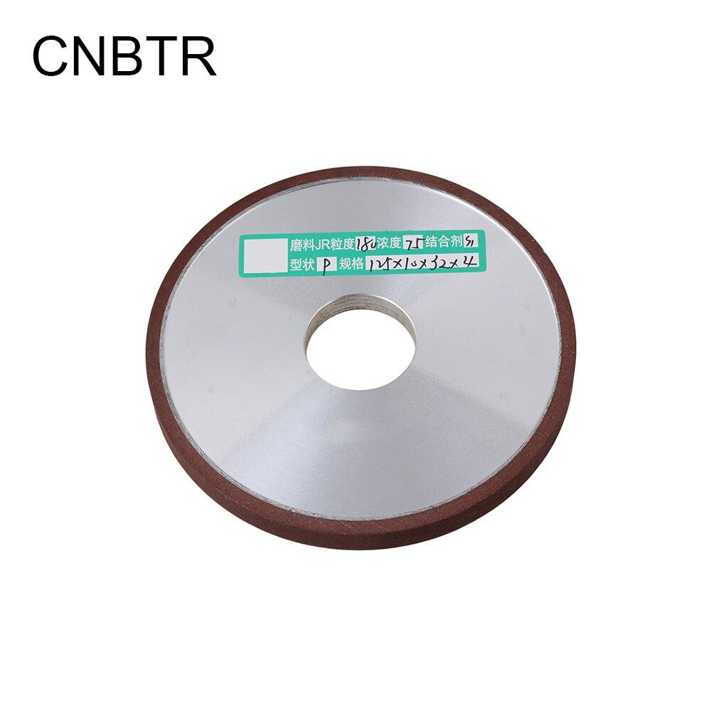 CNBTR Durable Diamant Enduit Parallèle Meule Diamètre 125mm Trou 32mm