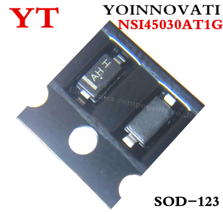 10PCS NSI45030AT1G NSI45030AT NSI45030 AH SOD-123 IC