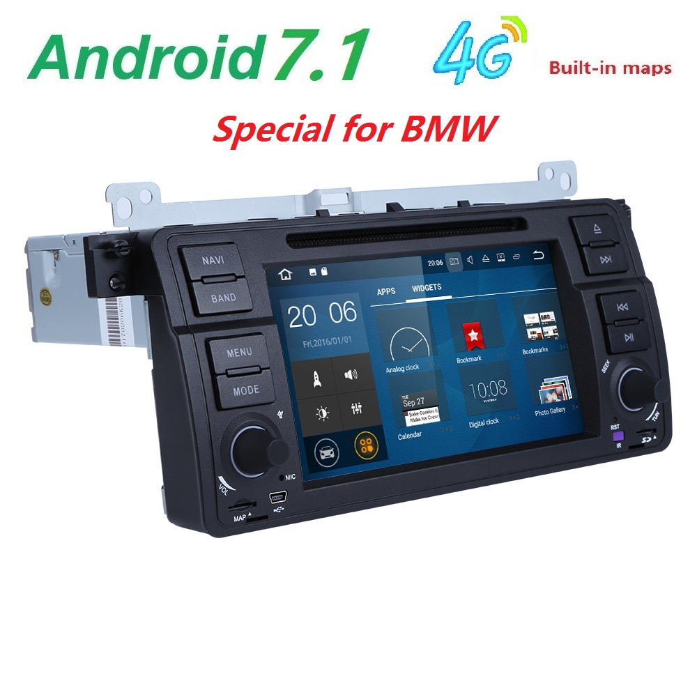 Android 7 1 Quad core HD 1024 600 screen 2 DIN Car DVD GPS font b