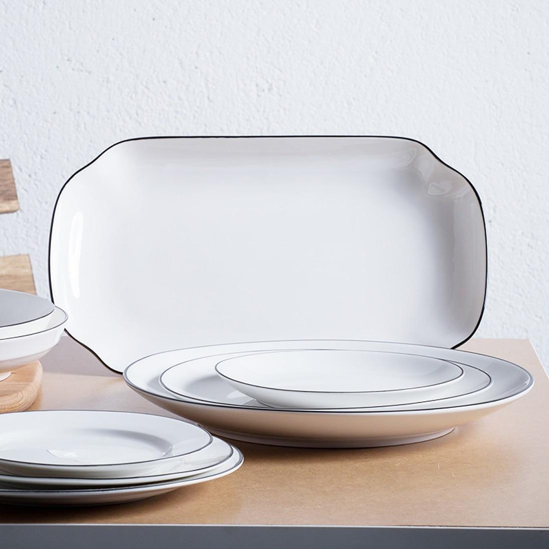 ceramics modern style white dishes table dish dessert dinner platesdinnerware sushi dishes snacks food bread kitchen tablewarein dishes plates from home . ceramics modern style white dishes table dish dessert dinner