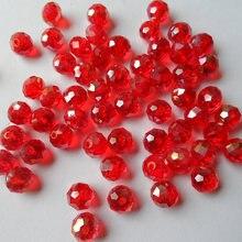 Распродажа с фабрики сексуальные красные хрустальные бусины