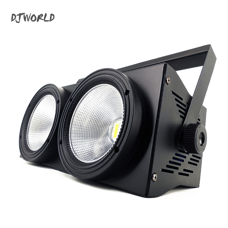 4pcs/lot 2Eyes LED 200W COB Par Stage Light RGBW 4in1 DMX 512 Lighting For Professional Large Stage Theater Spectator Seat show plaza light stage blinder auditoria light ww plus cw 2in1 cob lamp 200w spliced type for stage