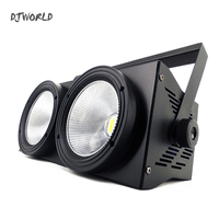 4pcs/lot 2Eyes LED 200W COB Par Stage Light RGBW 4in1 DMX 512 Lighting For Professional Large Stage Theater Spectator Seat