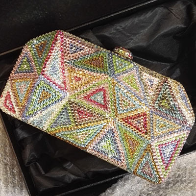 XI YUAN BRAND Women Clutch Bag Rhinestone Evening Purse Ladies Day Clutch Chain Handbag Bridal Wedding Party Bag Bolsa Mujer