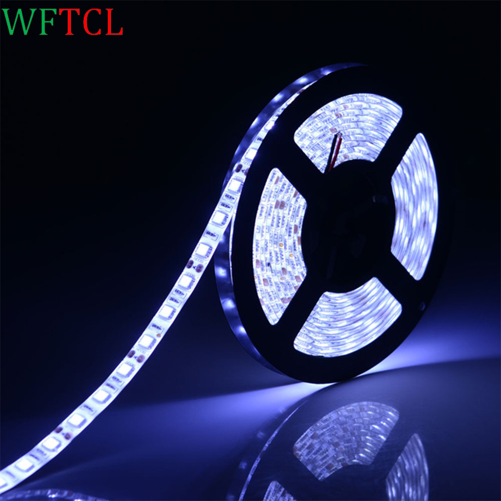 led lampen 5050 dc12v led strip flexible light ip65 waterproof 60 led m 5m rgb led strip 5050. Black Bedroom Furniture Sets. Home Design Ideas