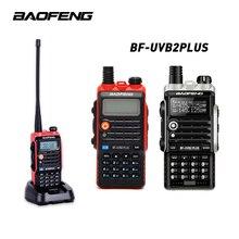 Baofeng Bf Uvb2プラストランシーバーledライト4800バッテリーcbラジオ携帯comunicadorハイパワー8ワットwalkietalkie