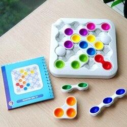 Voar ac clássico inteligência labirinto huarong estrada brinquedos educativos lógica pensar raciocínio jogo de festa de família