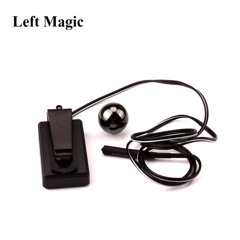 Electronic Magnetic Detector Magic Tricks Mental Power Ball Telepathy Magnetic Magic Mentalism Street Prediction Magic Props