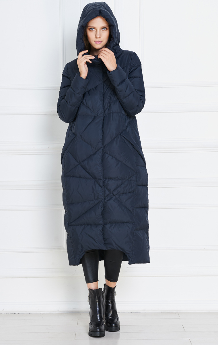 US $88.55 11% OFF|plus size woman extra long down coat winter women hooded woman extra long down coat winter jacket for women winter coat in Down