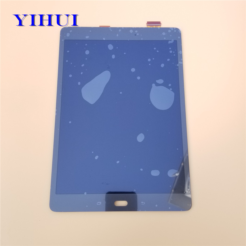 YIHUI Touch Screen Digitizer Sensor + Full LCD Display Panel Monitor Assembly For Samsung GALAXY Tab A 9.7 SM-P550 P550 LCD tablet lcd assembly for samsung galaxy tab a 9 7 sm p550 p550 display with touch screen digitizer panel lcd combo replacement