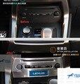 Para LEXUS NX NX200T NX300H 2015 CD Painel de Controle Central Da Tampa Trims 1 pcs
