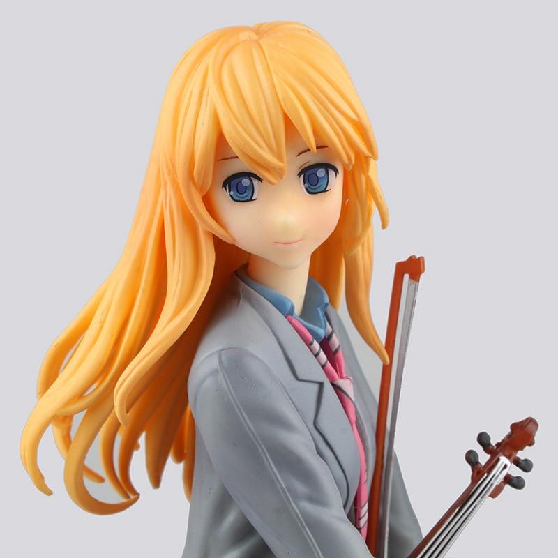 high quality GSC Your Lie in April Miyazono Kaori action figure model toys 1/8 scale Miyazono Kaori decoration pvc toys