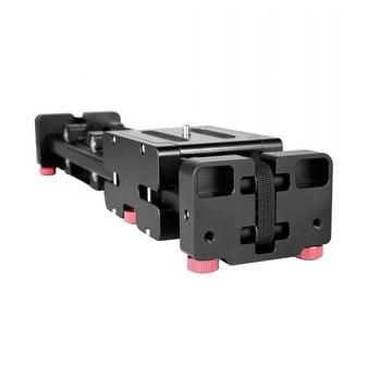 40CM distance increasing track FT-40 camera track bearing two-way translation SLR camera 40CM track