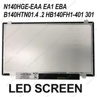 fit for B140HTN01.4 HB140FH1 301 401 B140HTN01.2 N140HGE EAA/ A1/ BA B140HTN01.B/C/5/6/4/3 LCD DISPAY LED PANEL MATRIX