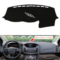 Fit For Ford For Focus 2012 2016 With Video Car Dashboard Cover Avoid Light Pad Instrument
