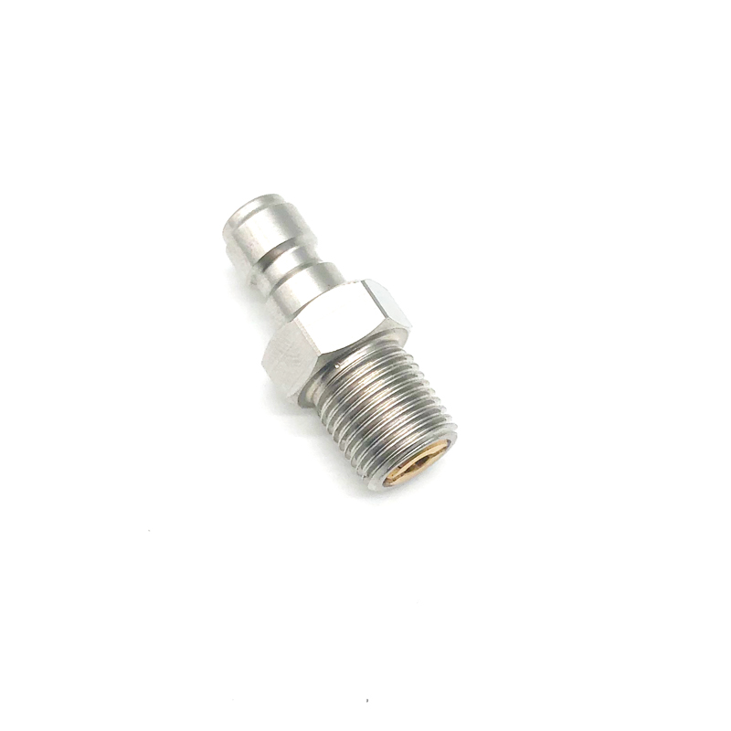 QUPB PCP Paintball Airforce Foster One Way Fill Valve 8mm Air Fill Nipple Stainless Steel FST001
