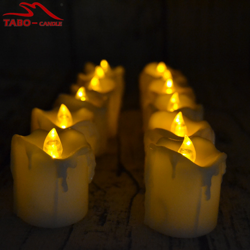 cr2032 coin battery operated electric mini cute led tealight candles set of 12 for wedding outdoor
