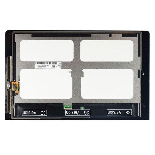 Для Lenovo IdeaTab Йога 10 B8000 ЖК-Дисплей с Сенсорным Экраном С Планшета Ассамблеи, 10.1 дюймов + Черный + Инструменты