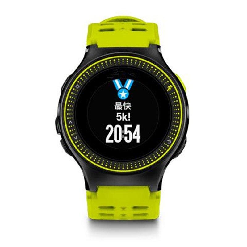 ZycBeautiful pour Garmin Forerunner 225 GPS surveillance de la fréquence Cardiaque vitesse piste en cours Montre Smart Watch
