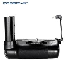 Capsaver 니콘 d7500 카메라에 대 한 세로 배터리 그립 홀더 전문 멀티 전원 배터리 손잡이 작업 EN EL15