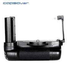 Capsaver suporte para câmera nikon d7500, seguramento vertical da bateria, profissional, multi potência, funciona com EN EL15