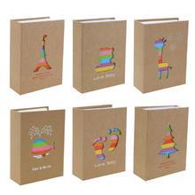 100 карманы 6 дюймов фотоальбом с рисунками из мультфильмов для хранения фотографий Скрапбукинг чехол фотоальбом рамка для детей детский подарок